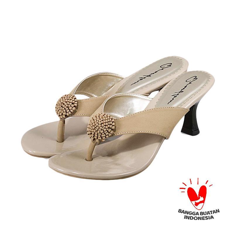 harga Everflow VDES 012 Sandal Heels Wanita Blibli.com