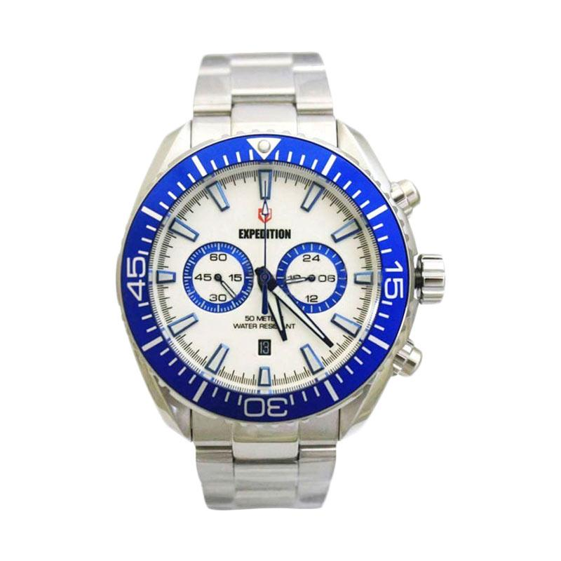 Expedition 6735 Silver White Blue