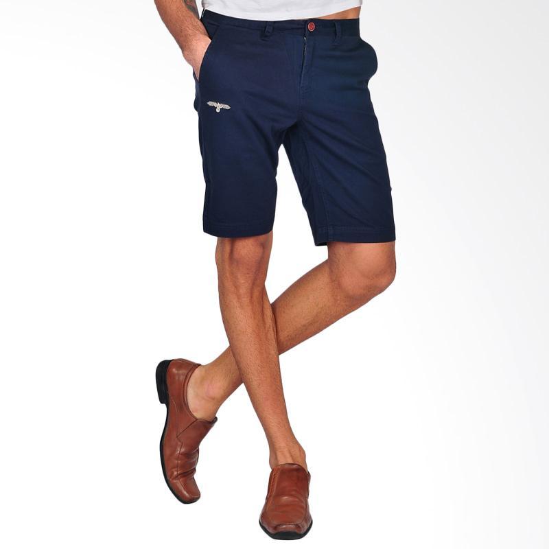 SJO & SIMPAPLY G Maxwell Men's Shorts Celana Pendek Pria - Navy