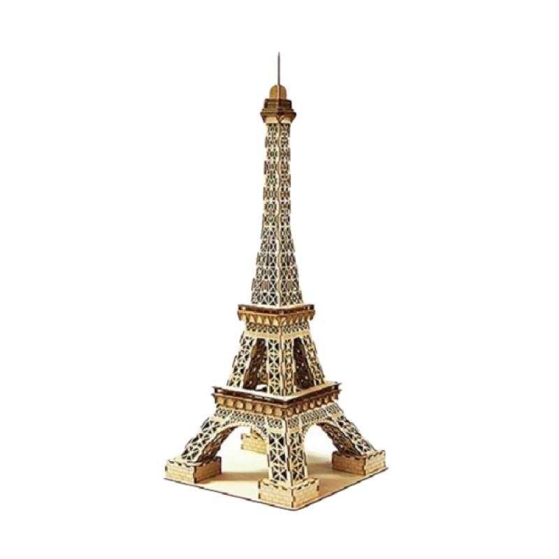 Kigumi Eiffel Tower L 3D Puzzle Kayu