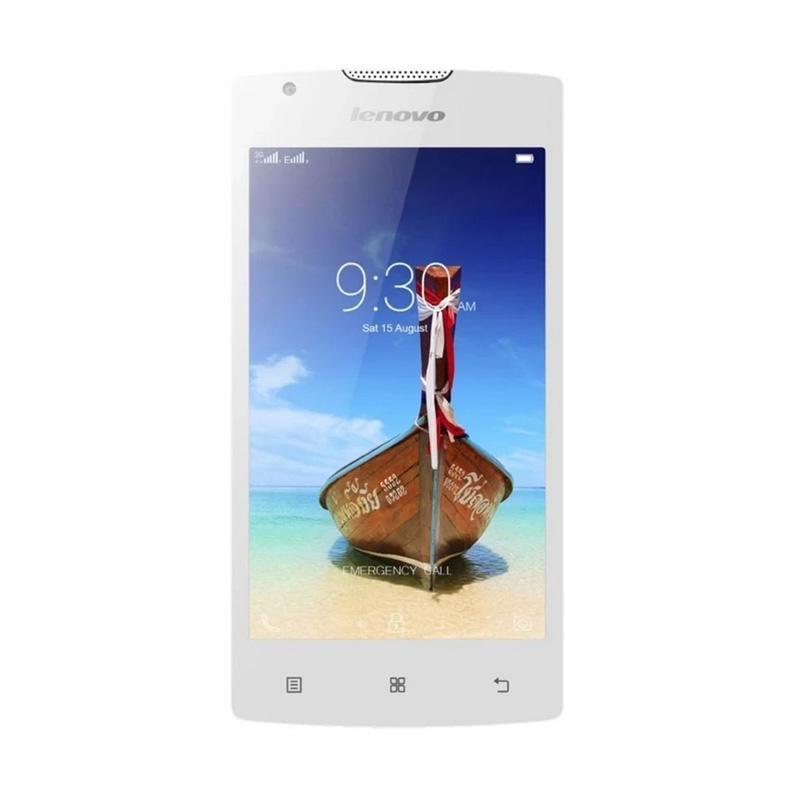 Lenovo Vibe A A1000M Smartphone - Putih [4GB]