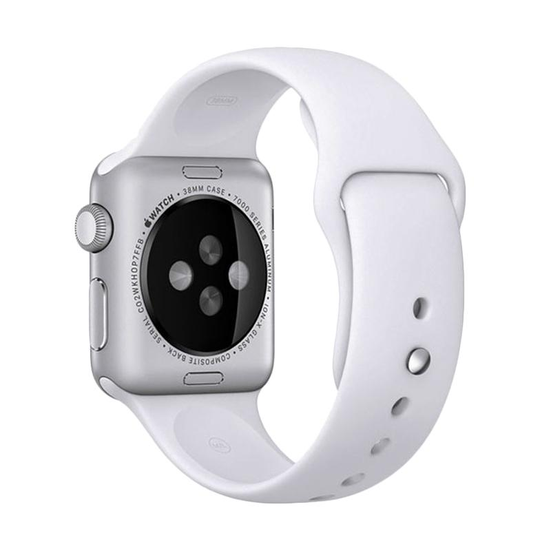 LOLLYPOP Strap Sports Band for Apple Watch 38mm - White
