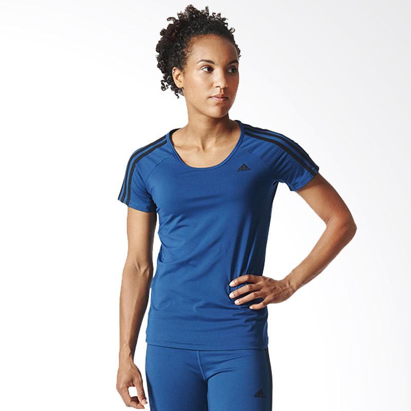 adidas Basic 3S P Tee Women Baju Olahraga AY7827