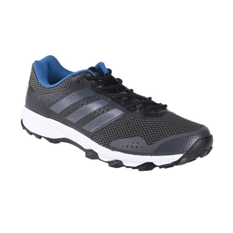 harga adidas Men Running DURAMO 7 TRAIL Sepatu Lari - Black (BB4430) Blibli.com