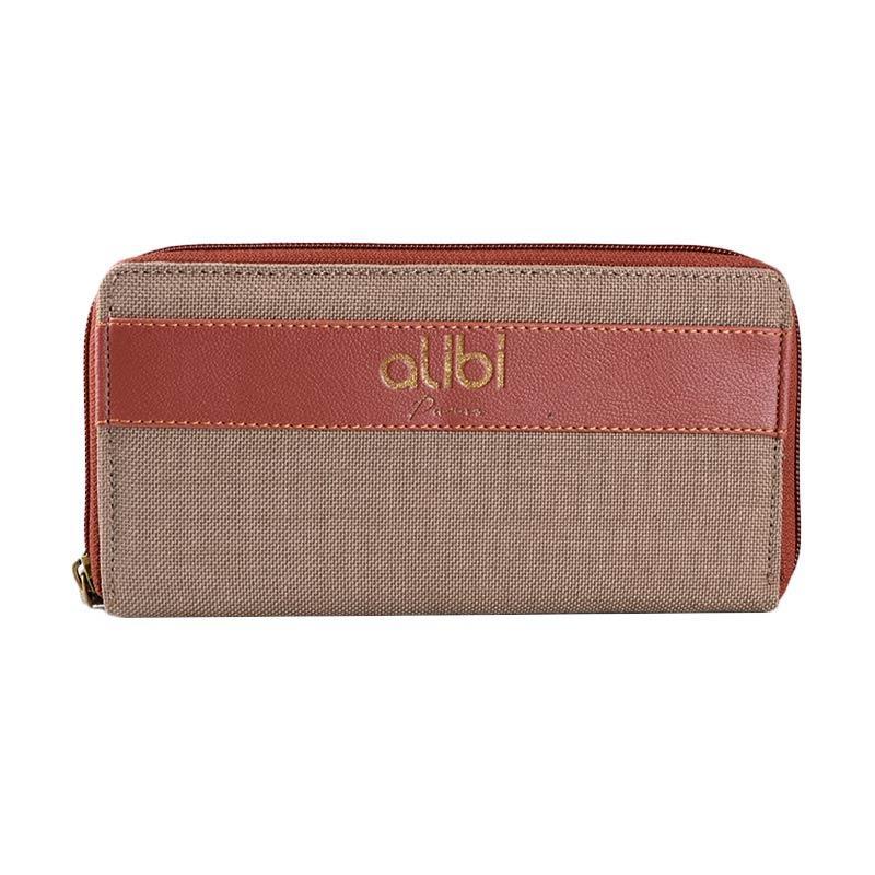 Alibi Crenay Wallet W0284K1 Long Wallet - Khaki
