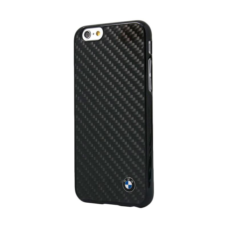 BMW Real Carbon Fiber Casing for iPhone 6 Plus - Black