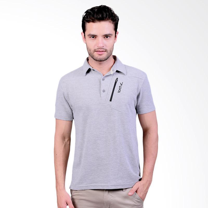 Torch Seri Dartford Polo Shirt - Grey Extra diskon 7% setiap hari Extra diskon 5% setiap hari Citibank – lebih hemat 10%