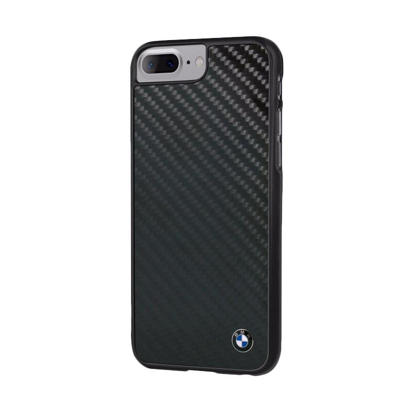 BMW Real Carbon Fiber Casing for iPhone 7 Plus - Black