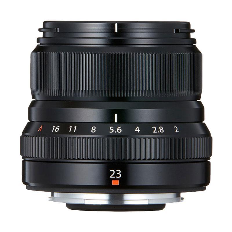 Lens - Fujifilm XF 23mm f/2 R WR Lens (Black)