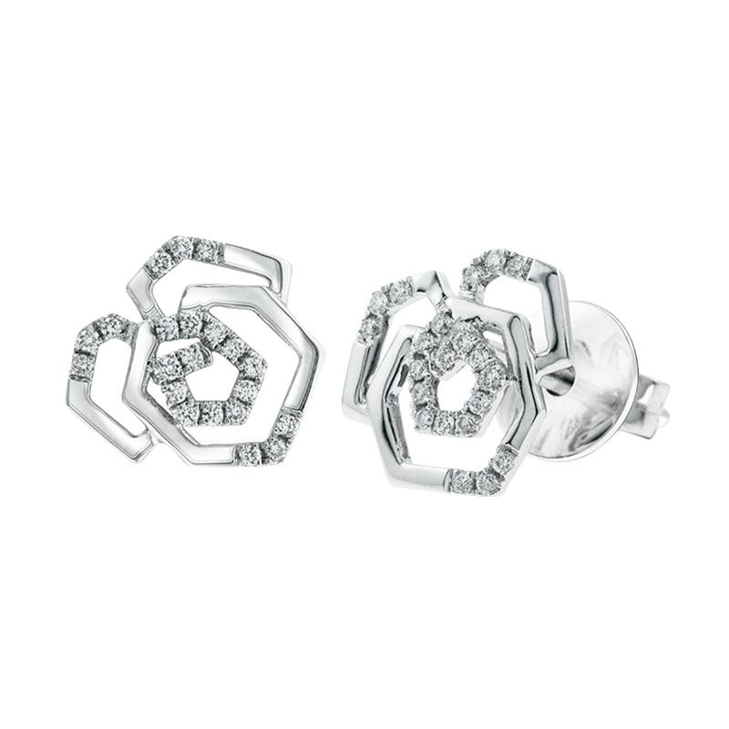 My Jewel Floret WE20451A Diamond Earring
