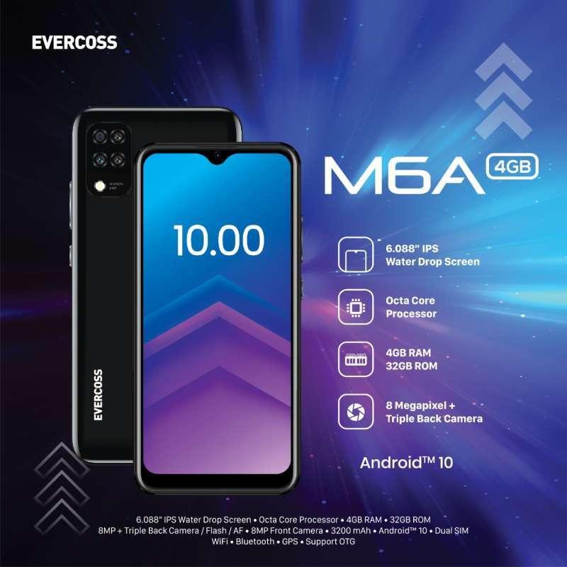 Jual Hp Evercoss M6a Ram 4gb Rom 32gb Smartphone - Resmi Murah Mei 2021 |  9 HP Android Murah Harga Dibawah 1 Juta