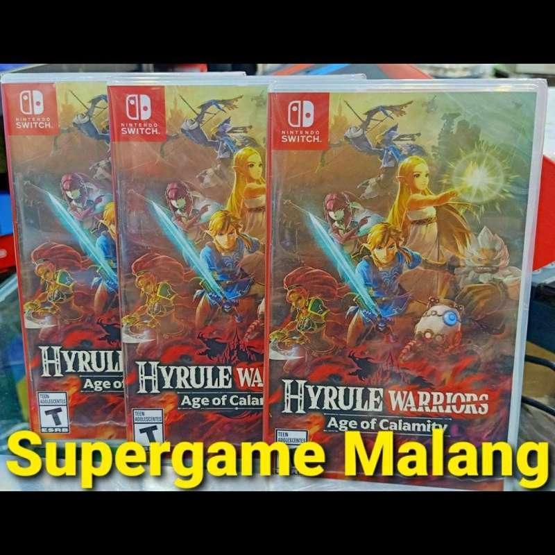 Jual Supergame Malang Hyrule Warriors Age Of Calamity Zelda Nintendo Switch Game Games Online Maret 2021 Blibli