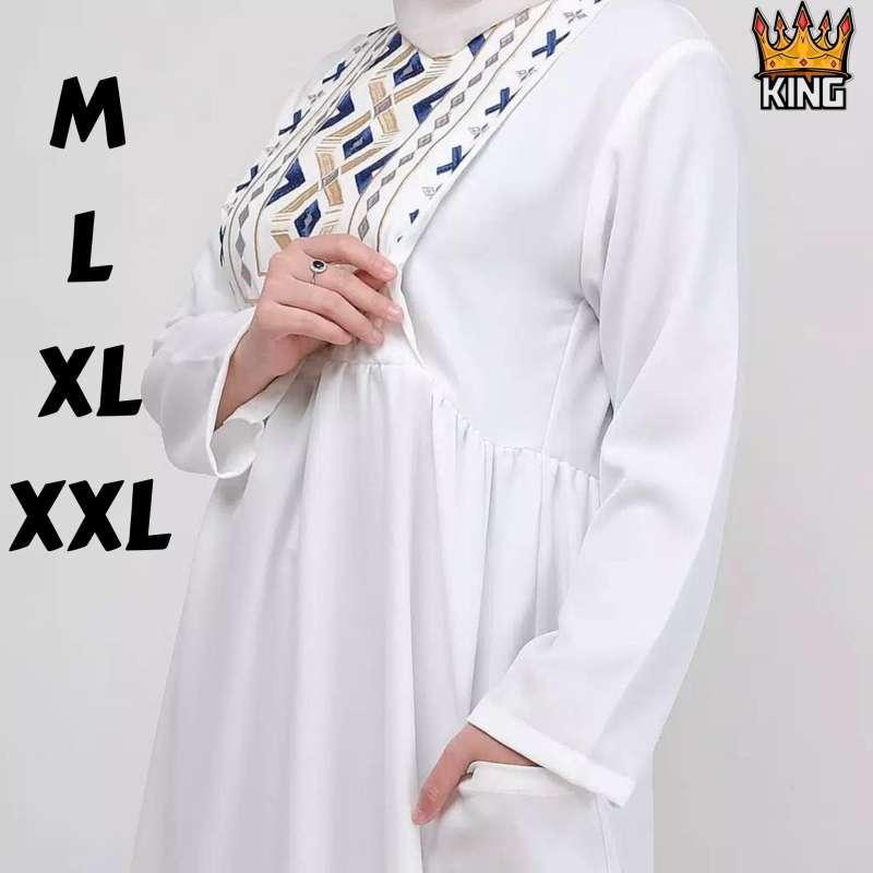 Jual Shaima Others Gamis Terbaru 2021 Gamis Remaja Modern Dress Wanita Terbaru Baju Gamis Wanita Gamis Sultan Gamis Mewah Gamis Trend Gamis Bordir F20 Online Maret 2021 Blibli
