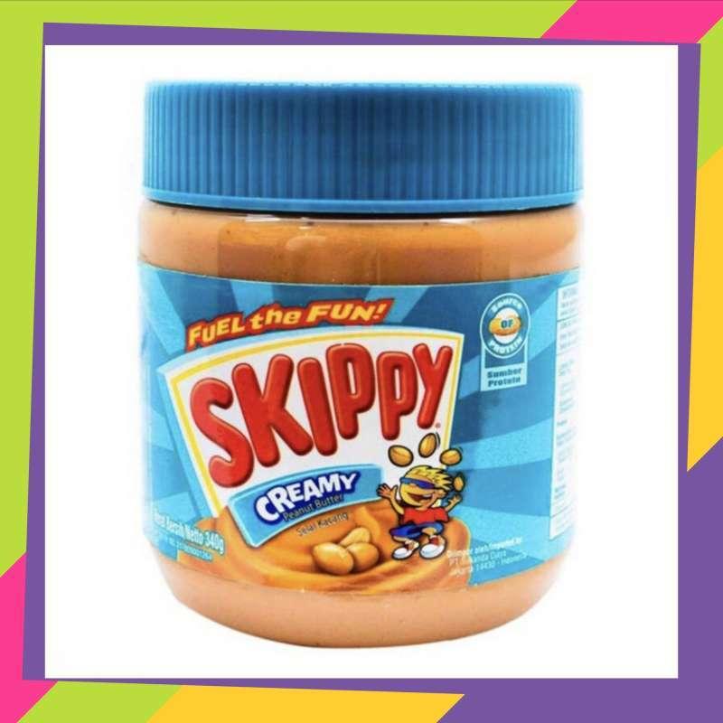 Jual Skippy Creamy Peanut Butter 340gr Selai Kacang Creamy Skippy 340gr Paceemacee Online Mei 2021 Blibli