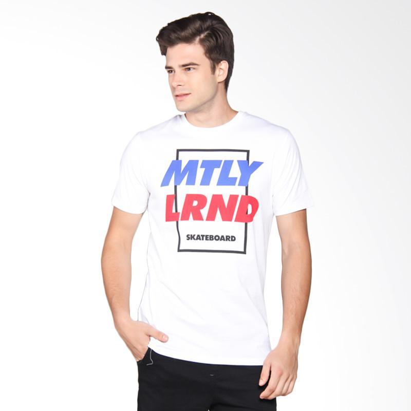 Moutley Tshirt Pria - White 393061712