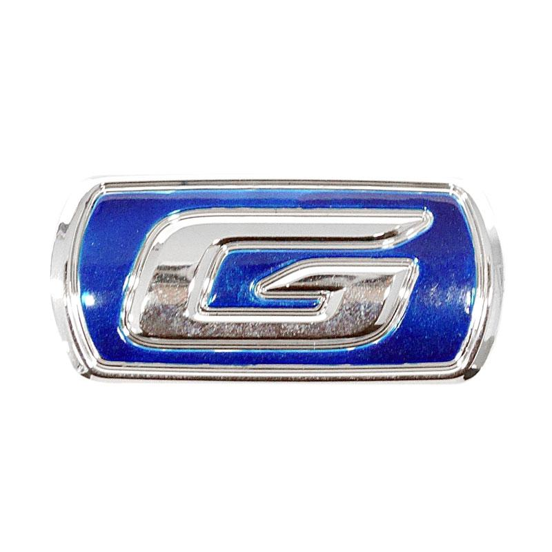SIV EMB-G102 Logo Tulisan G Emblem - Blue