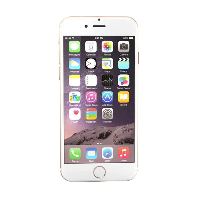 Diskon Apple iPhone 6 32GB Smartphone – Gold (Garansi Resmi TAM)