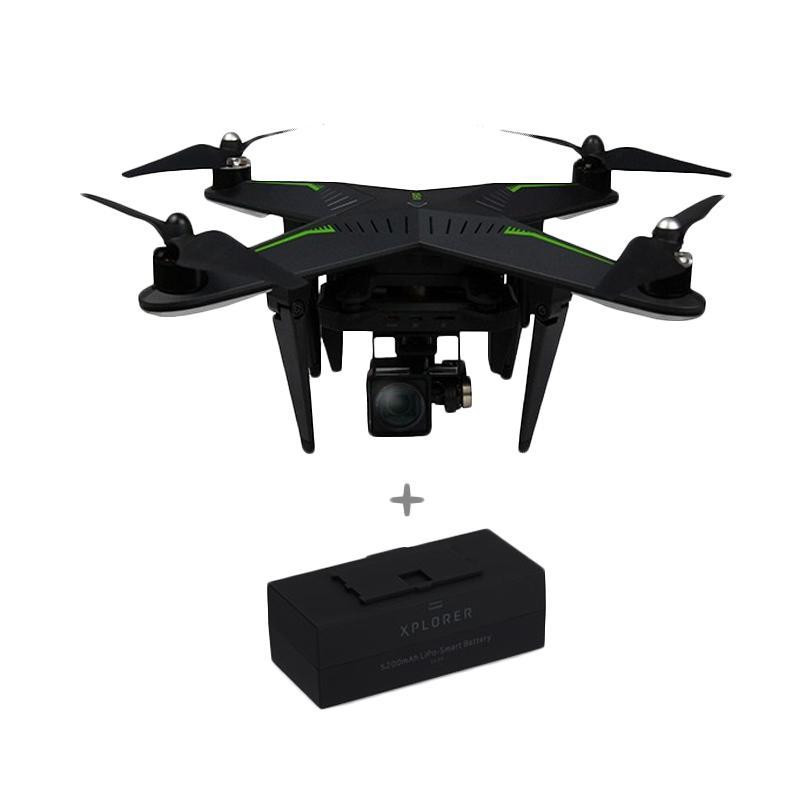 harga Xiro Xplorer 4K Drone with Extra Battery Blibli.com