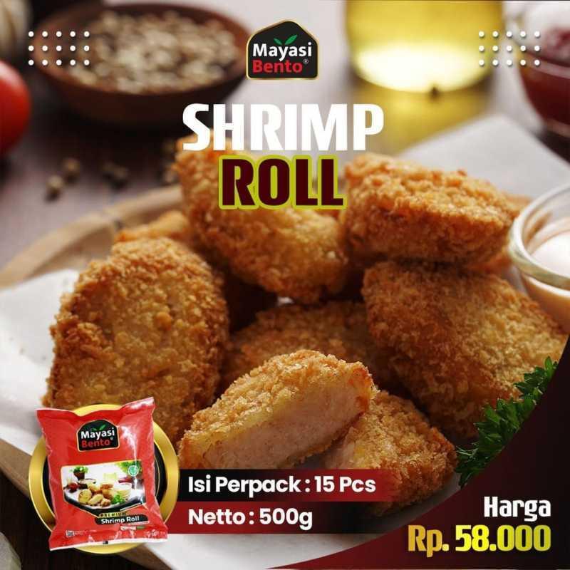 Jual Shrimp Roll Mayasi Bento Udang Ayam Tanpa Pengawet Ada Bpom Frozen Food Siap Goreng Premium Bento Murah Mei 2021 Blibli