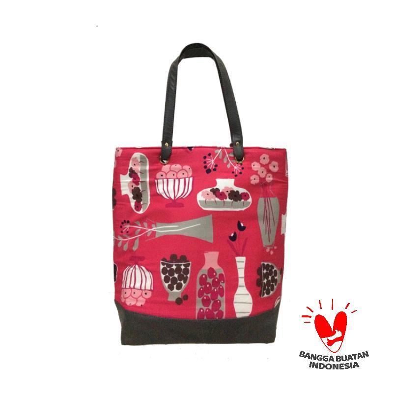 Dinary Flowery Tote Bag