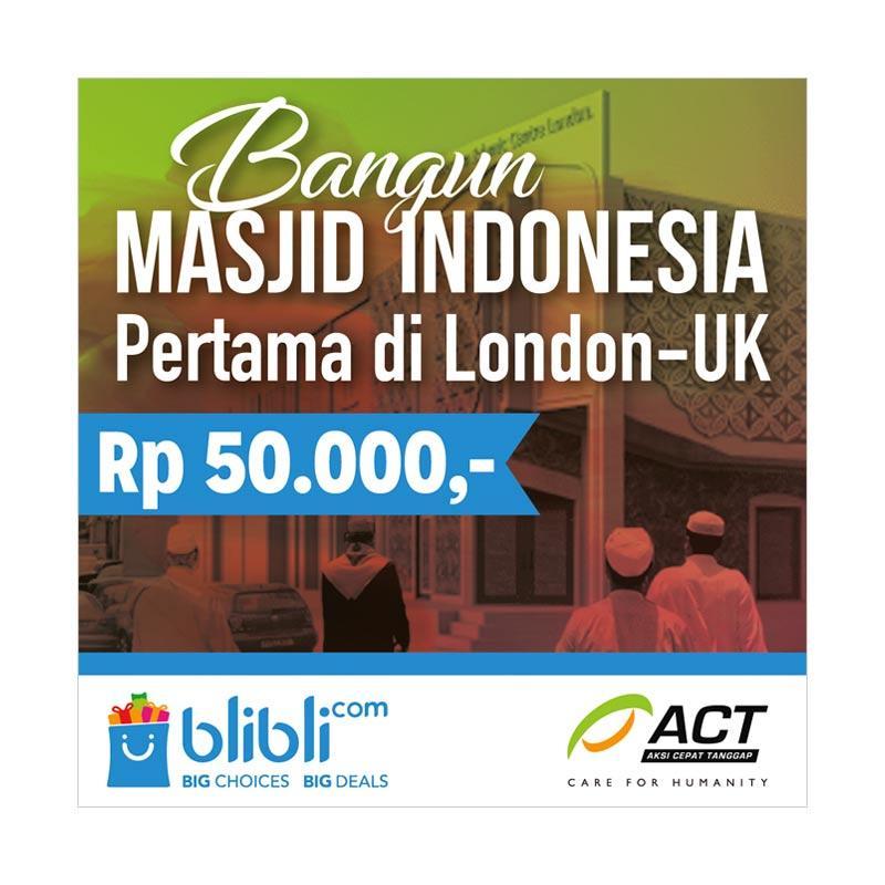 ACT - Bangun Masjid Indonesia Pertama di London