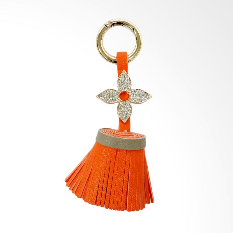 SIV Diamond 01 Key Chain Gantungan Kunci - Orange [KDL06]