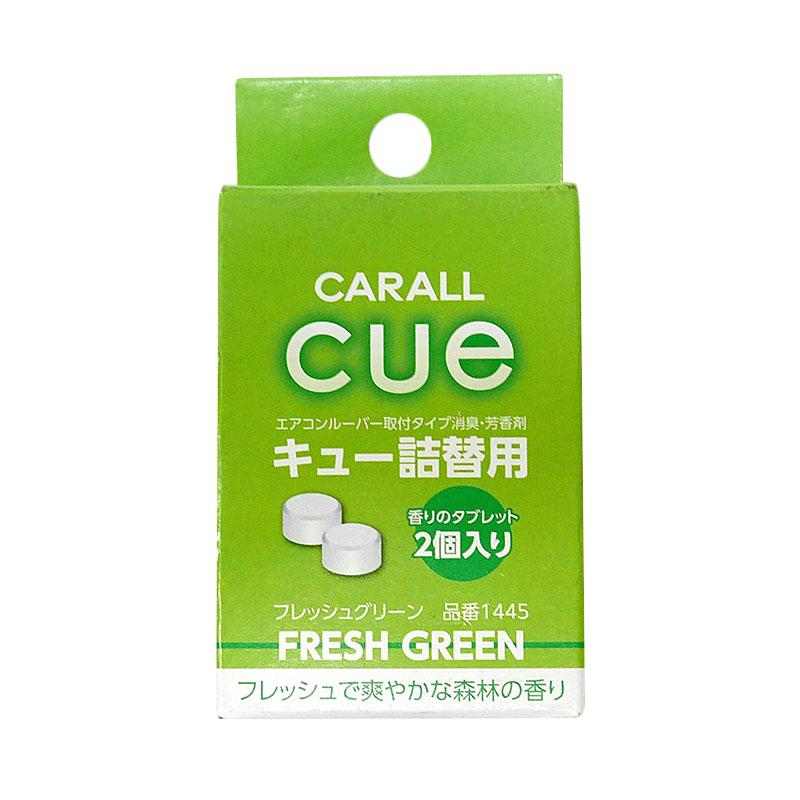 Carall Cue Fresh Green Clip On Air Freshener Refill Parfum Mobil