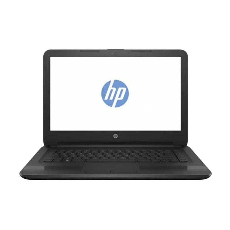 "HP 14-BW005AU Notebook - Black [QuadCore A4-9120/4GB/500GB/14""/Dos]"