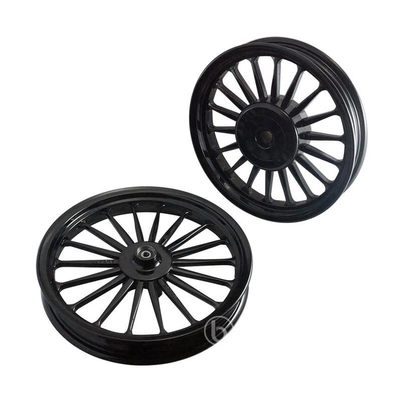 harga V-Rossi Galaxy Balok 18 Set Velg Racing for Vario 110 - Hitam [Ring 14/185-215] Blibli.com