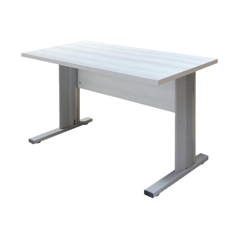 Kirana ODM 1261 Meja Kantor - Silver Oak