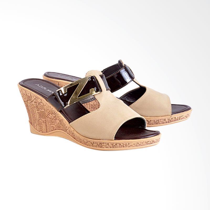 harga Azzura 594-15 Sandal Wedges Wanita Blibli.com