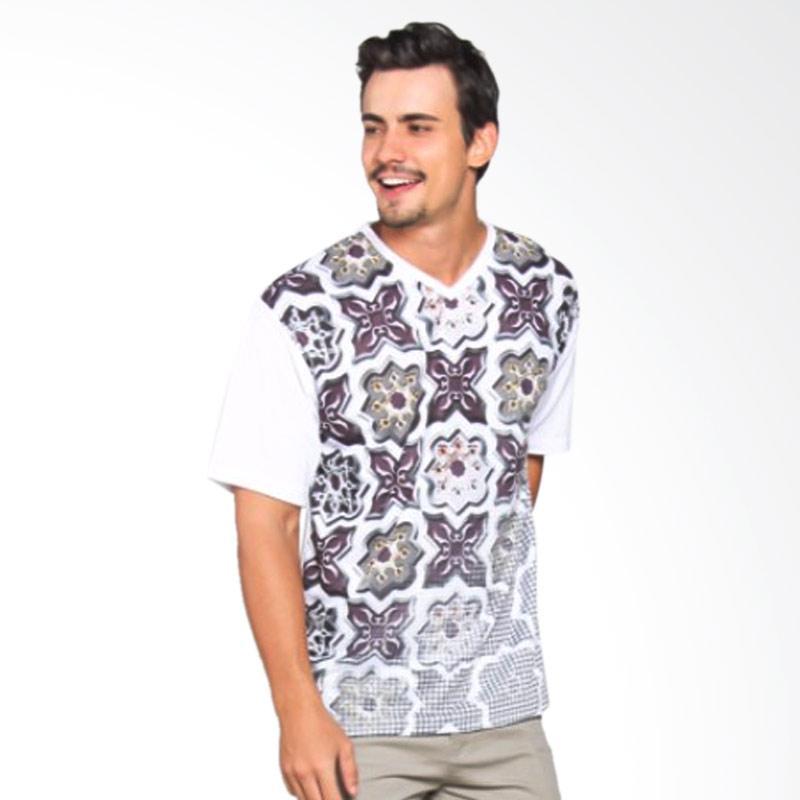 EpicMomo Pattern4 T-Shirt - White AD.00146
