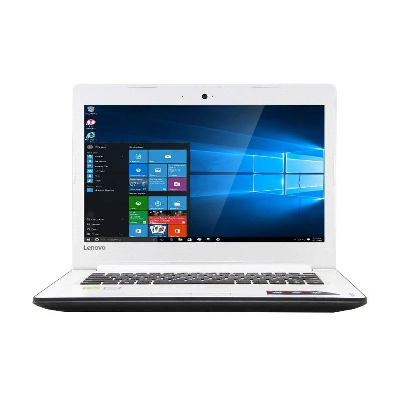 harga Lenovo Ideapad 310-14IKB Laptop - Putih [Core I5-7200 Kabylake/4GB/1TB/NVidia GeForce 2GB/ Windows 10] Blibli.com