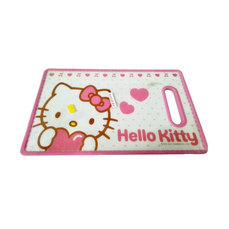Hello Kitty HK Cute Chopping Board Peralatan Dapur - Pink
