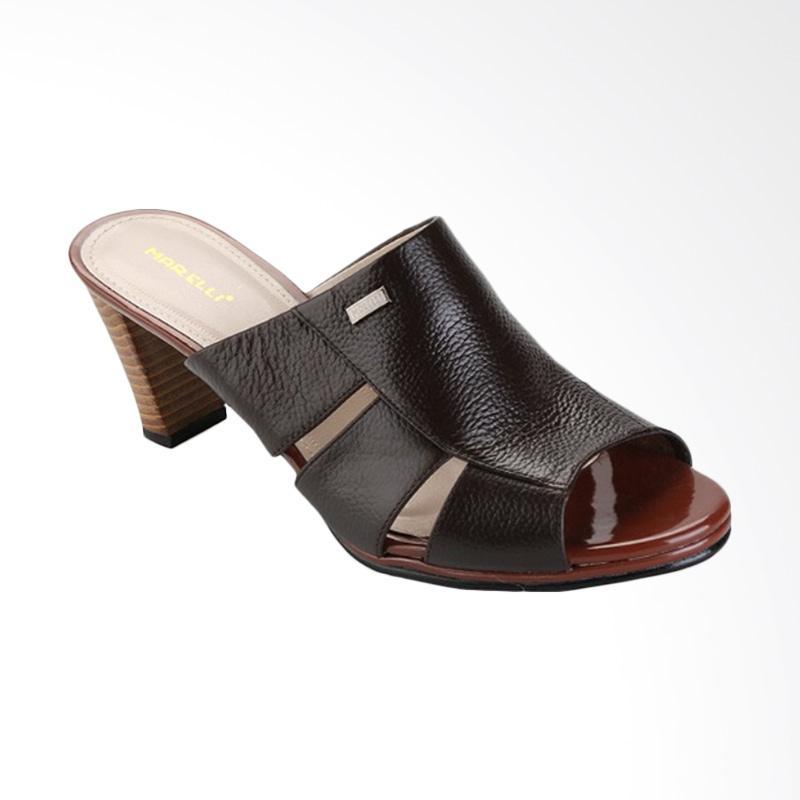 harga Marelli 0055 Heels Sandal Wanita - Cokelat Blibli.com