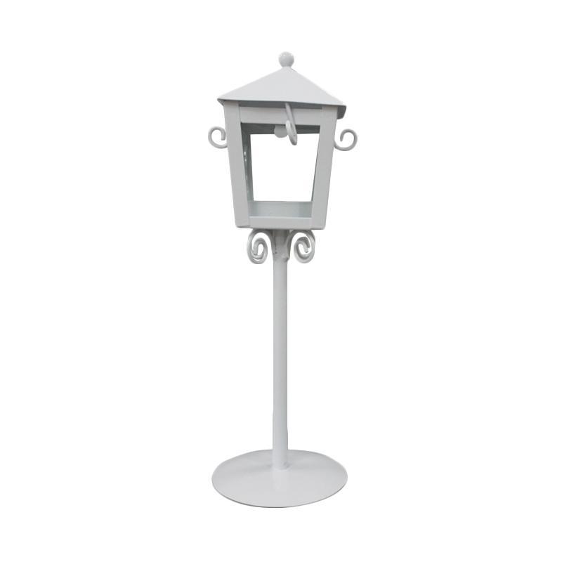 Jual Qhomemart Lampu Taman Tempat Lilin Putih Online Maret 2021 Blibli