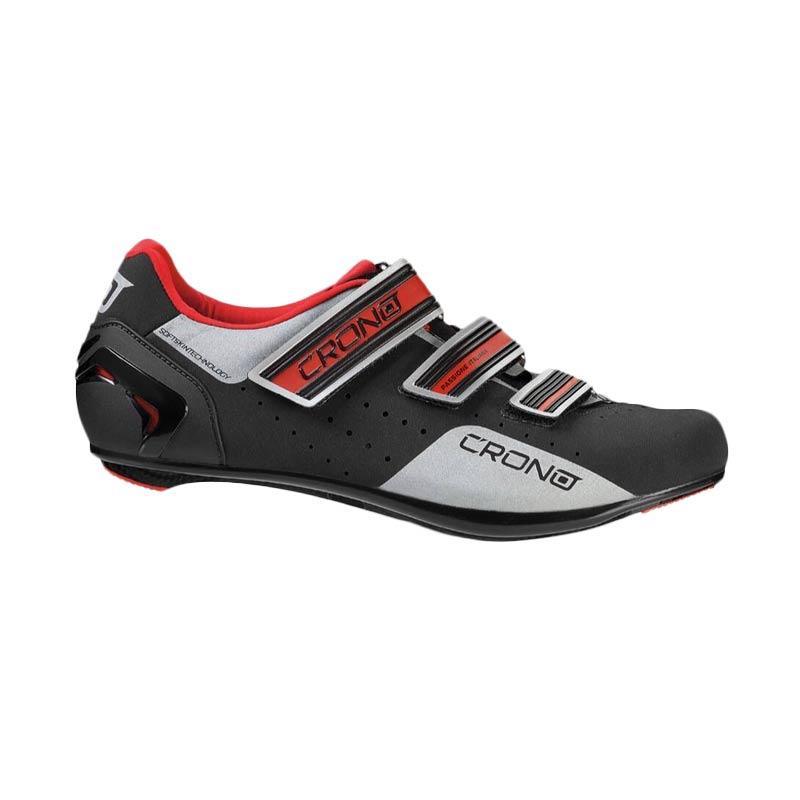 harga Crono Road Shoes Sepatu Sepeda - Black CR4 Blibli.com