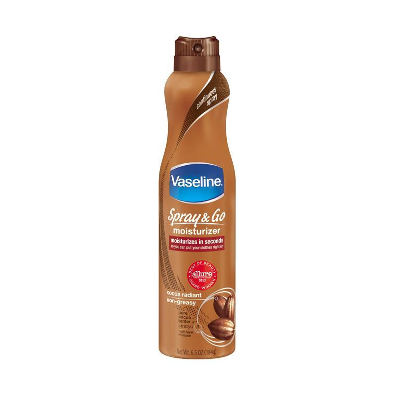 Vaseline Spray and Go Moisturizer - Cocoa Radiant [184 g]
