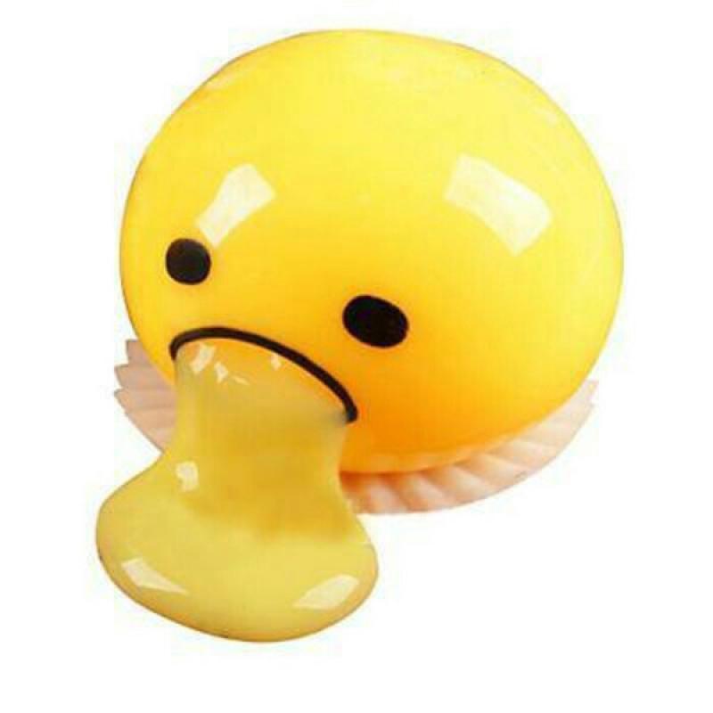 Mainan Edukasi Anak Egg Slime Squishy