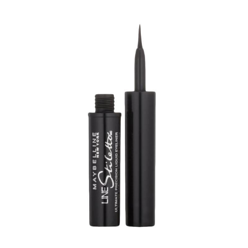 Maybelline New York Line Stiletto Ultimate Precision Liquid Eyeliner Blackest Black 501