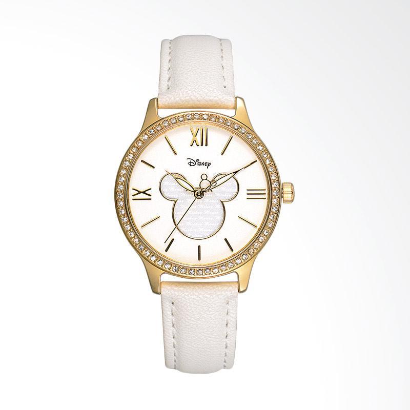 Disney Mickey MS11008-W Jam Tangan Wanita - Putih