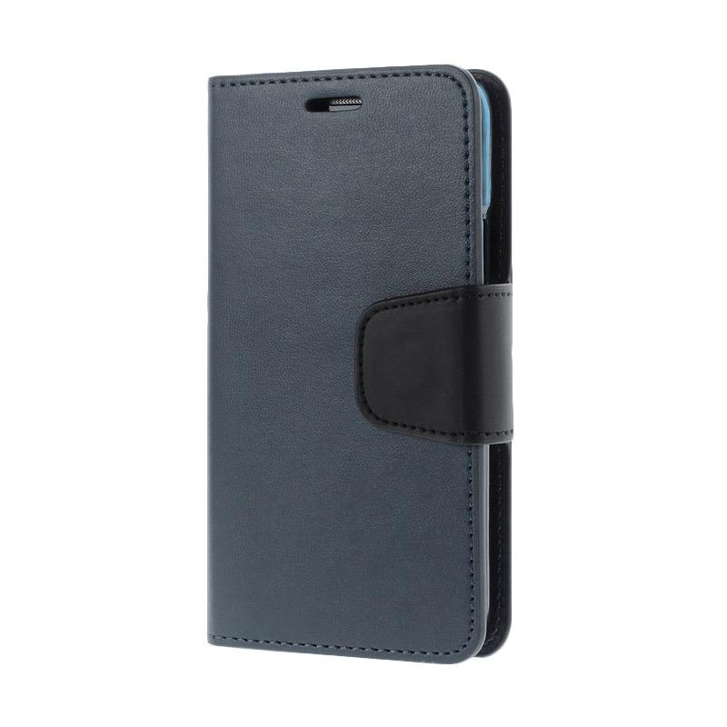 Mercury Standing Flip Cover Casing for Samsung Galaxy Grand 2 - Blue