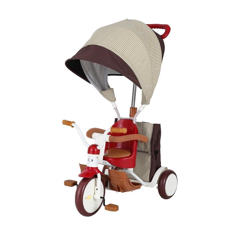 IIMO 03 Tricycle Sepeda Roda Tiga  - Red