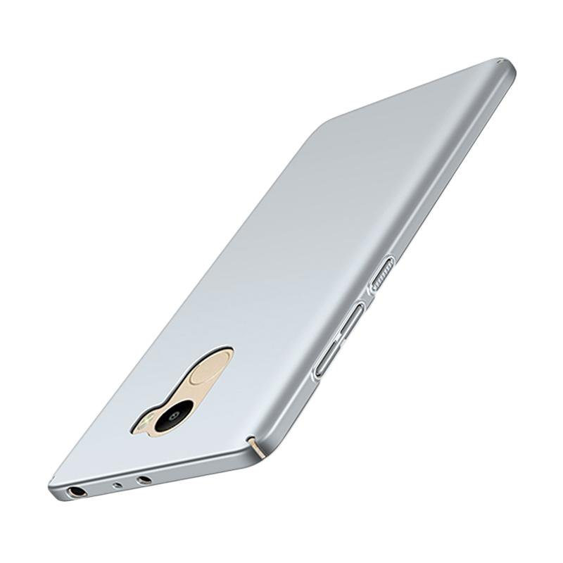 WEIKA Baby Skin Ultra Thin Hardcase Casing for Xiaomi Redmi 4 - Silver