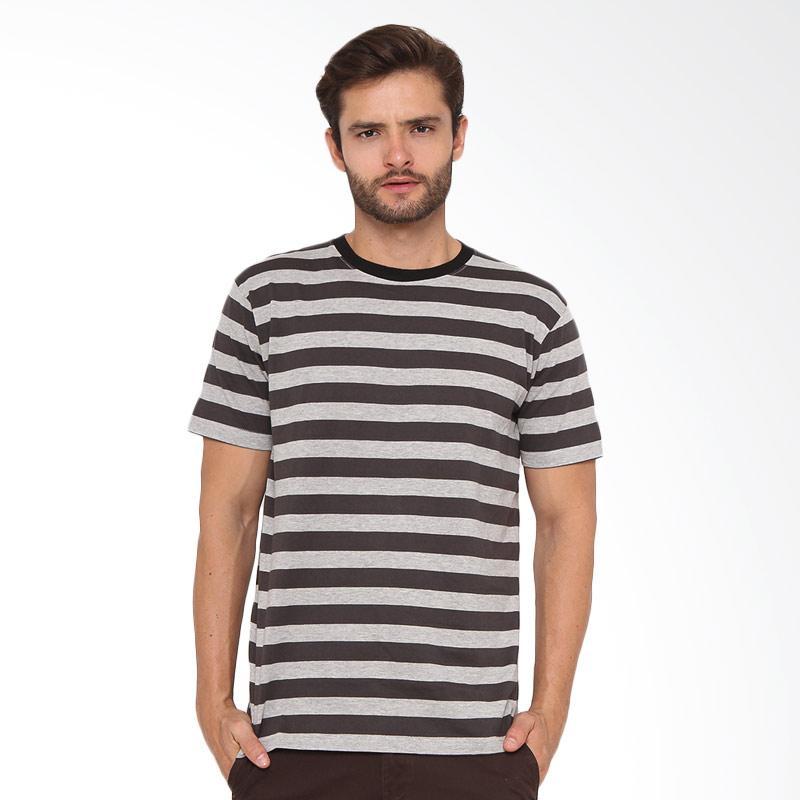 17seven Original Tees Colchester T-shirt Pria - Grey