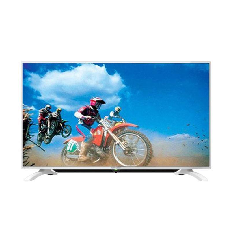 SHARP 40LE185I-WH Super ECO Mode Full HD LED TV [40 Inch]