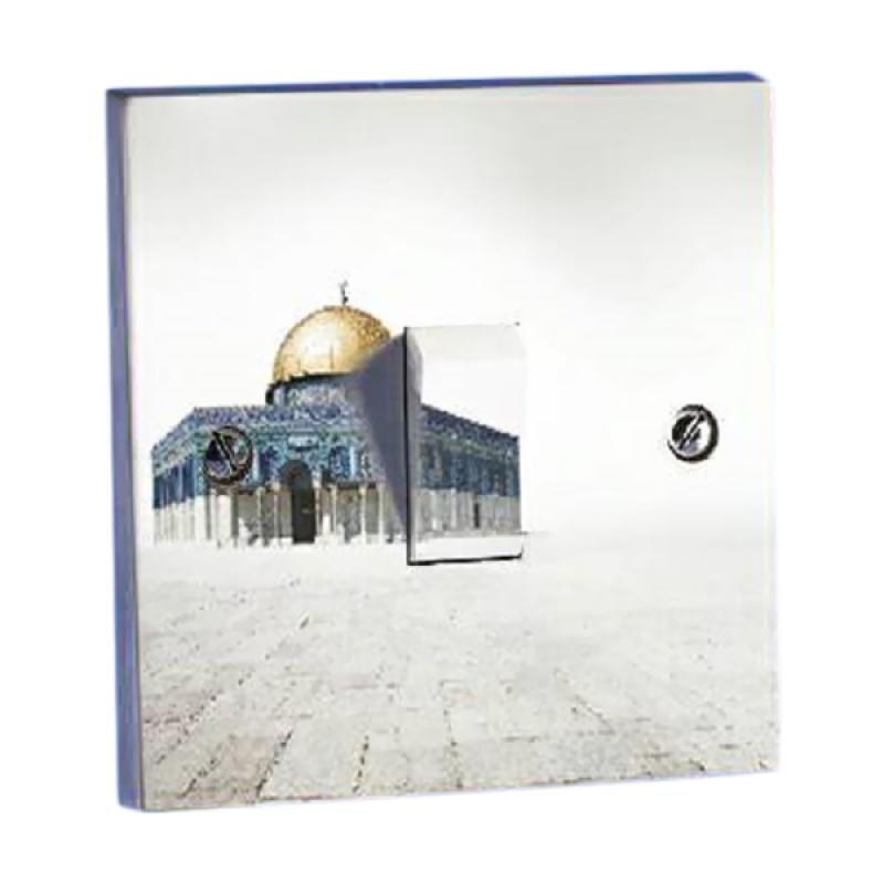 OEM Karikatur Masjid Saklar Lampu Sticker
