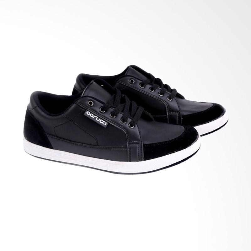 Garucci Sneakers Shoes - Black TMI 1098