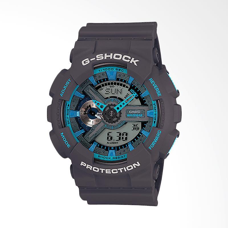 CASIO G-Shock Jam Tangan Pria - Dark Grey GA-110TS-8A2DR