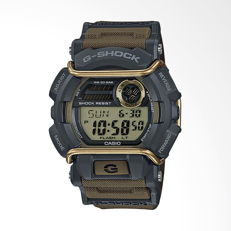 CASIO G-Shock Jam Tangan Pria - Grey Brown GD-400-9DR